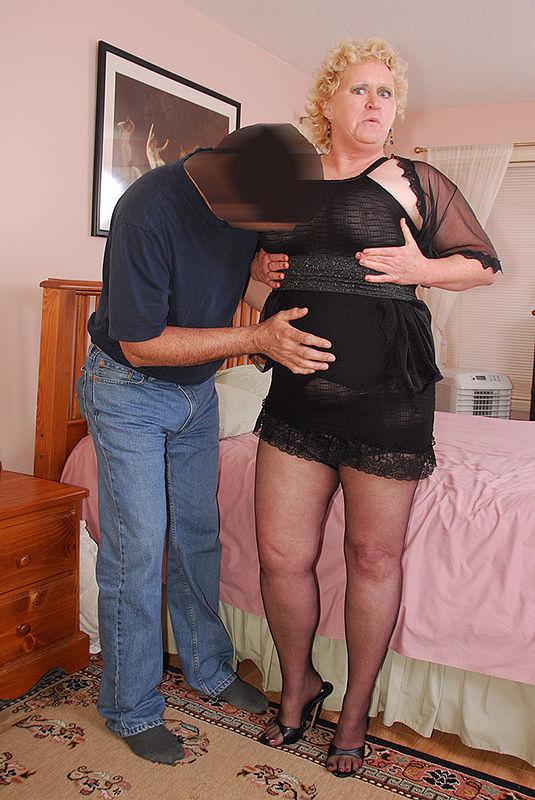 Black chubby stocking