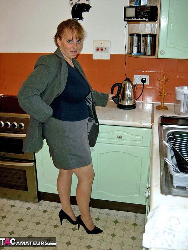 Mature In Kitchen