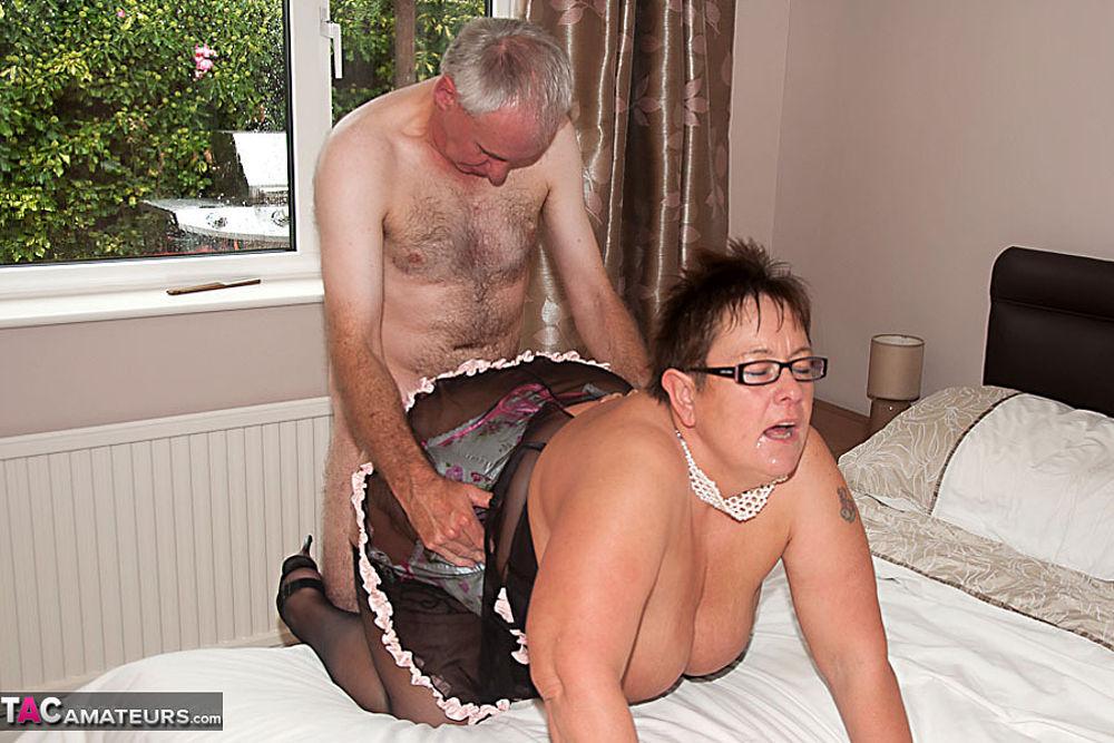 British slut lucia gets fucked in the hay - 3 part 6