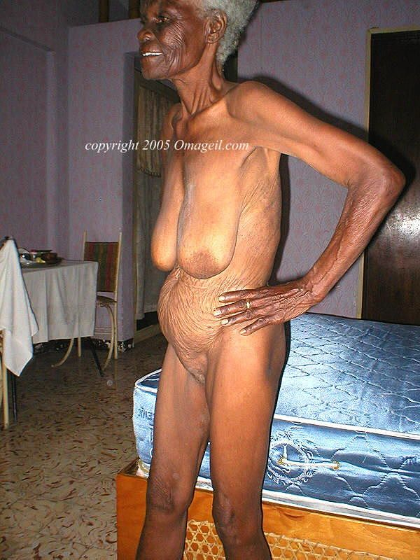 Very Old Naked Black Women