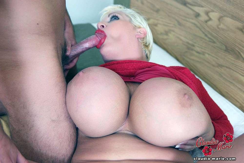 Huge tit prostitute claudia marie destroyed by black stud