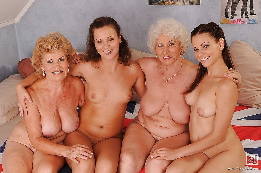 Porn granny lesbian