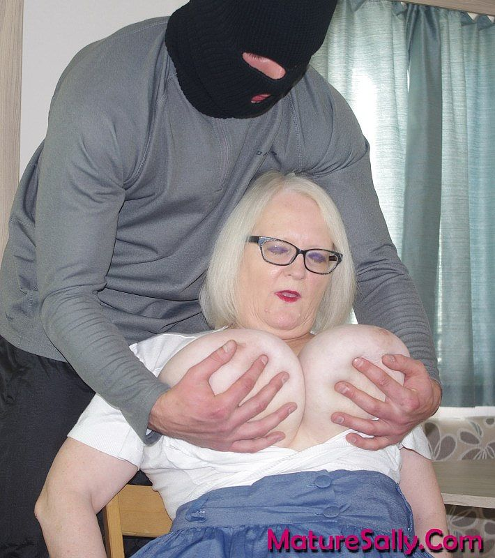 Mature Sally Raped By A Thief