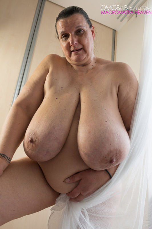 Naked mature boobs