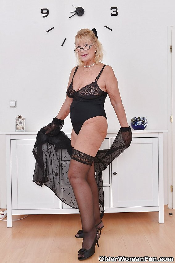 year old euro granny gigi from olderwomanfun