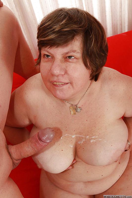 Massive tits granny and her secret vid