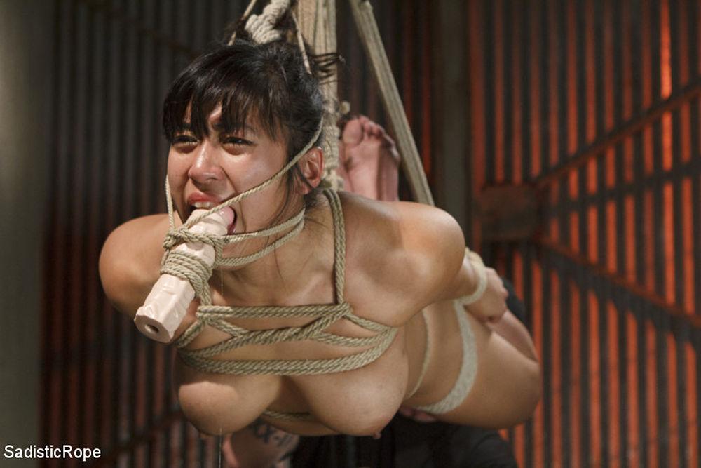 Asian brutal bondage