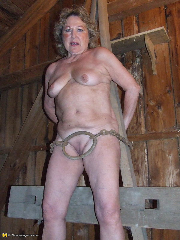 Bizarre mature granny moms extreme pussy torture and ass dildo insertions