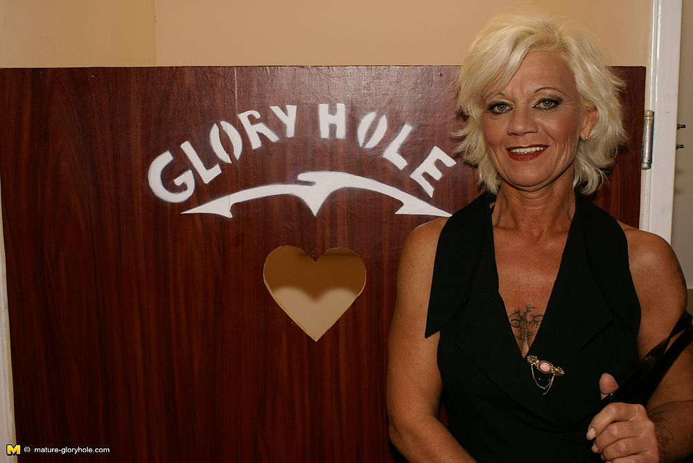 Mature in gloryhole
