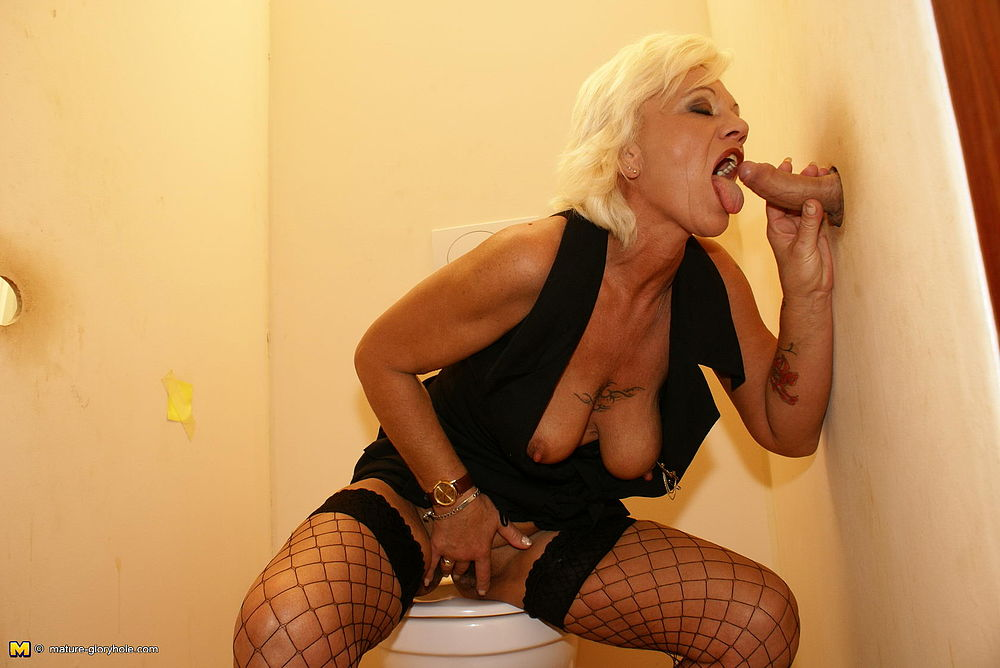 Mature at gloryhole