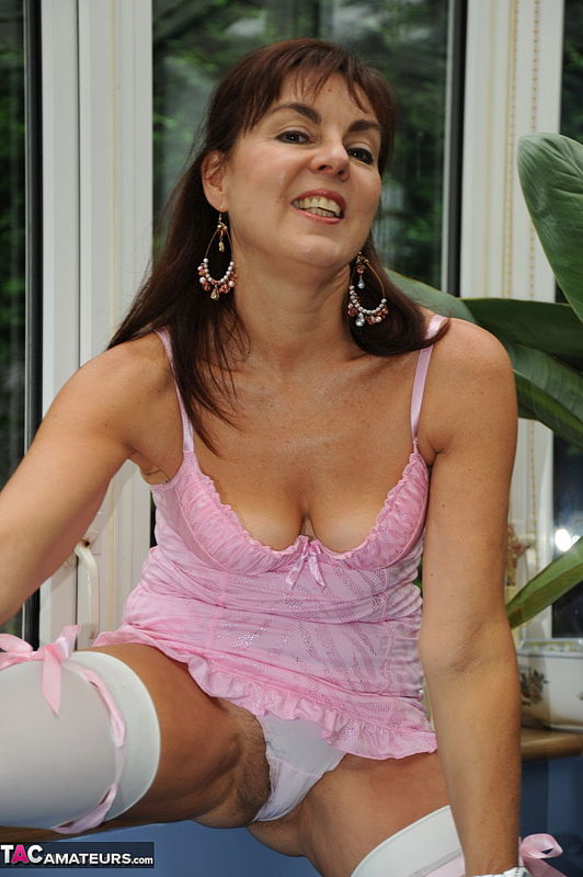 georgie white stockings striptease in the conservatory pictures