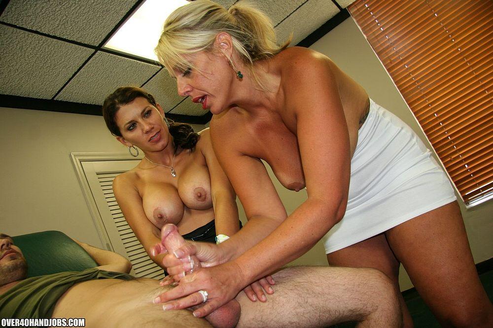 Male flashing masturbation