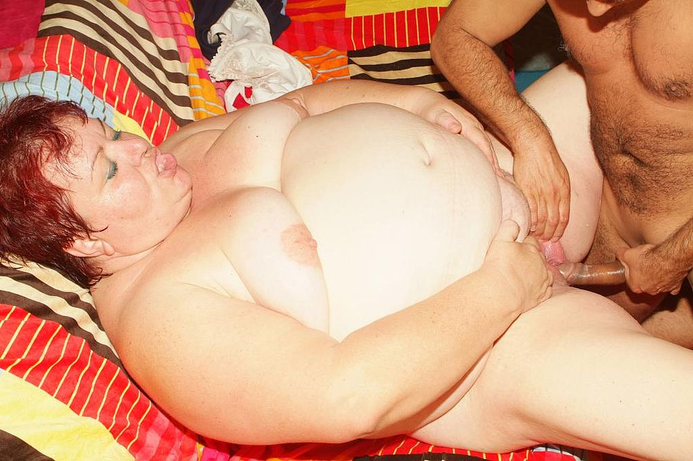Порно фото жирных старых баб