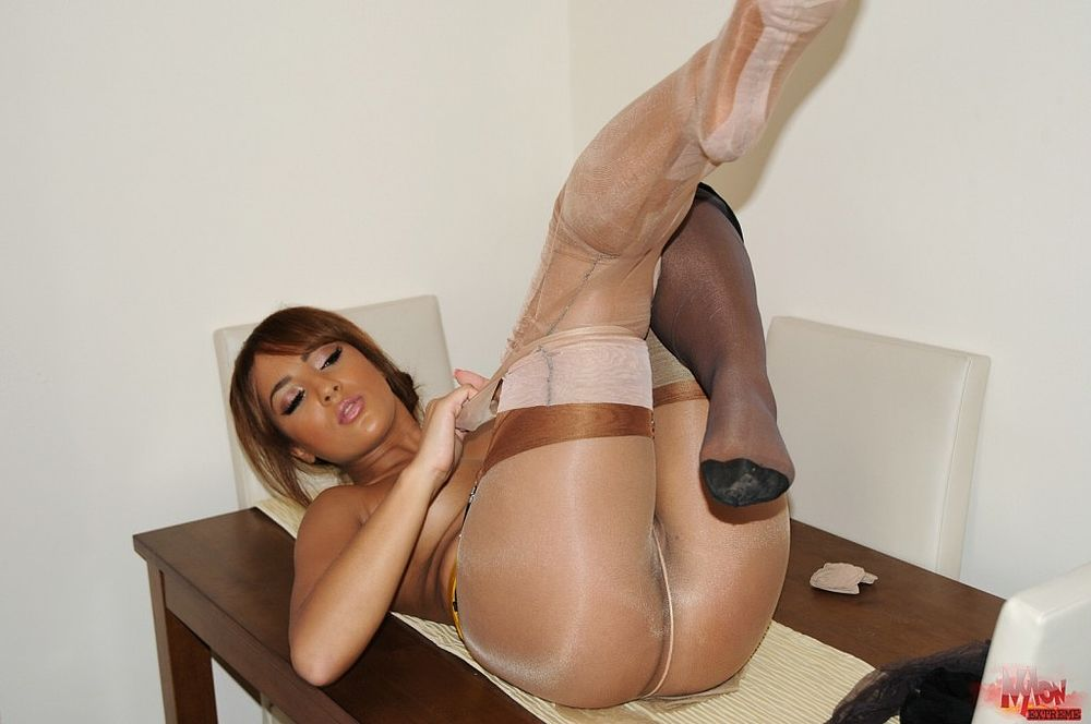 Mature pantyhose hardcore pantyhose softcore black — photo 7